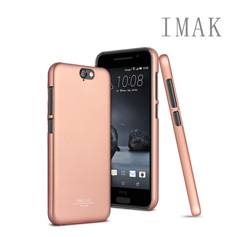 low priced e9cff e97a2 US $6.49 |for HTC One A9 Original Case Imak Back Cover Eco friendly Durable  Rose Gold Hard Case for HTC One A9 Colorful Plastic Cases on ...