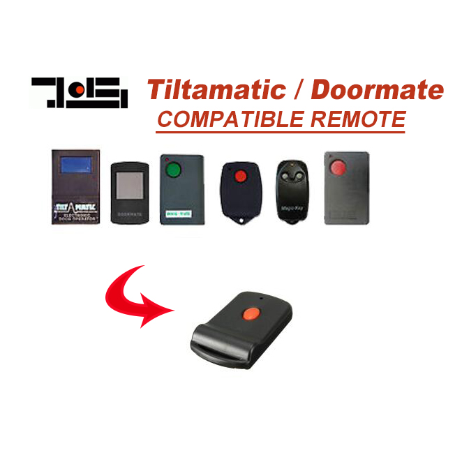 For tilt a matic ,doormate,TRV,TRG garage door remote control цена