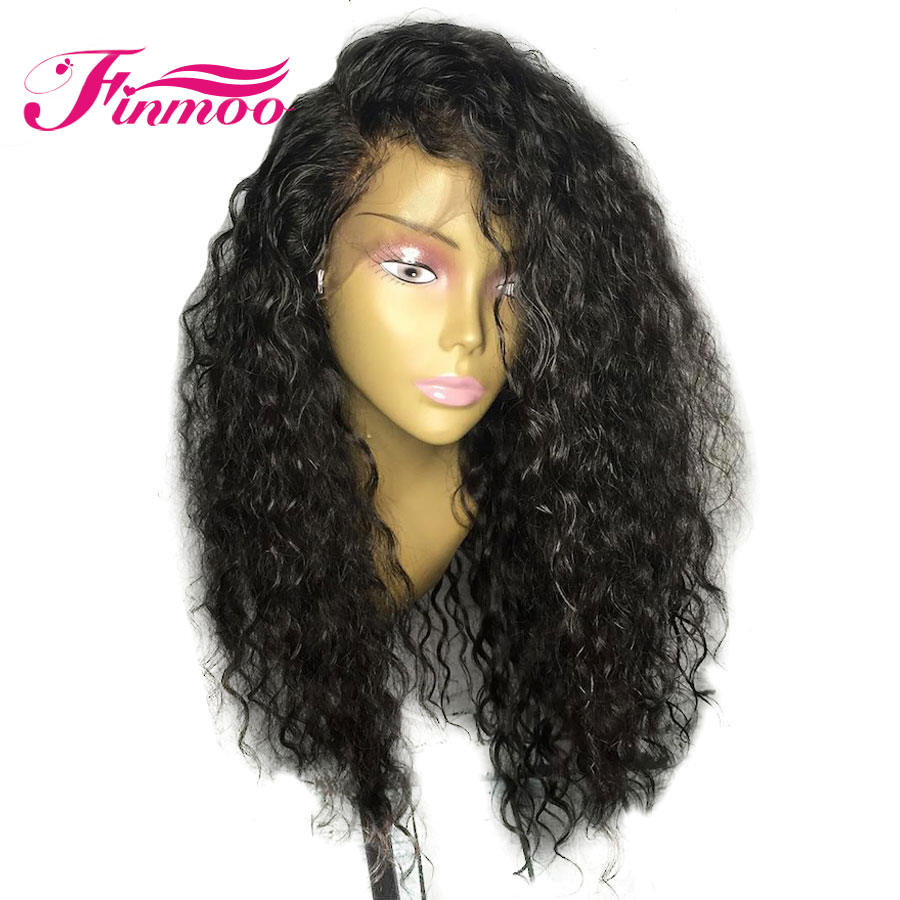 Malaysia 360 Lace Front Wig With Baby Hair Glueless Water Wave Lace Front Human Hair Wig