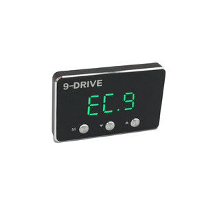 Image 5 - Schwarz auto gas geschwindigkeit erhöhen Starke booster qualifizierte Auto pedal controller für toyota hilux reiz mark X landcruiser prado