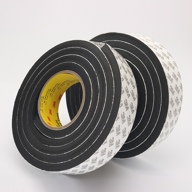 1pcs 5M length waterproof EVA Tape 3M Super sticky Sponge double sided Foam Tape For Automotive Trim Parts Home Hardware in Tape from Home Improvement