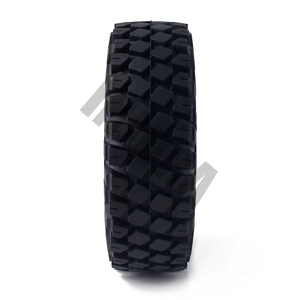 "Image 5 - 4PCS 114MM 1.9"" Rubber Rocks Tyres / Wheel Tires for 1:10 RC Rock Crawler Axial SCX10 90046 AXI03007 Traxxas TRX 4"