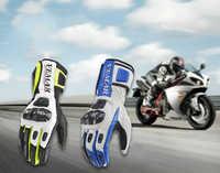 Paar Carbon Fiber Radfahren Handschuhe Atmungsaktive Anti slip Volle Finger Handschuhe Touchscreen Motorrad Fahrrad Bike Wandern Skating