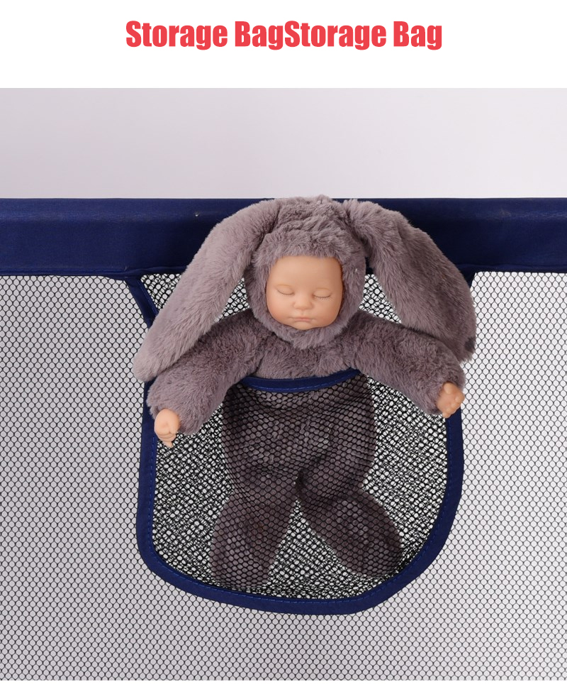 Baby Playpen Made With Stainless Steel Tube For Baby Pool Balls 14