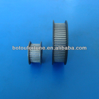 16 teeth H timing pulley belt pulley aluminum timing pulley 10mm width 6pcs a pack