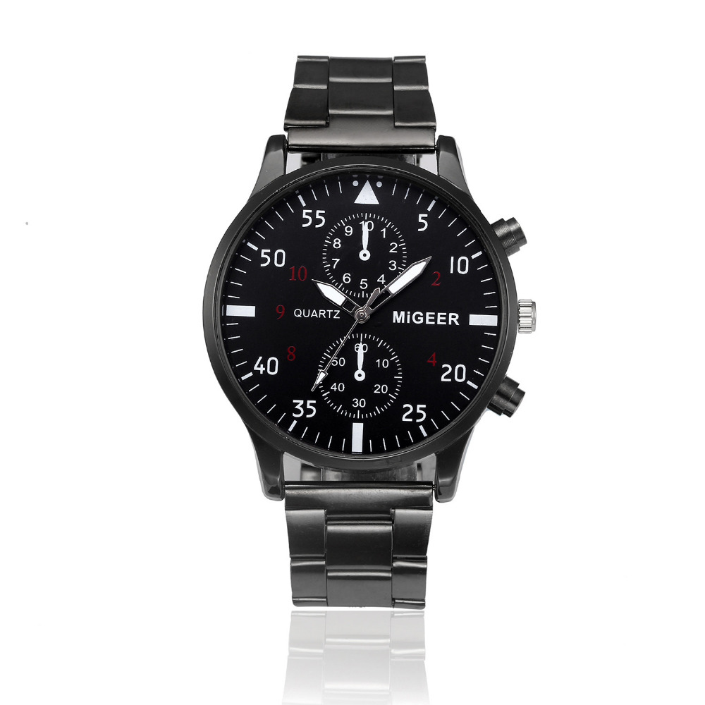 Splendid Fashion Men Watch Relogio Masculino Crystal Stainless Steel Quartz Top Brand Military Analog Male Wrist Watch Bracelet fashion men watches luxury male sports crystal stainless steel analog quartz wrist watch bracelet male hour relogio masculino