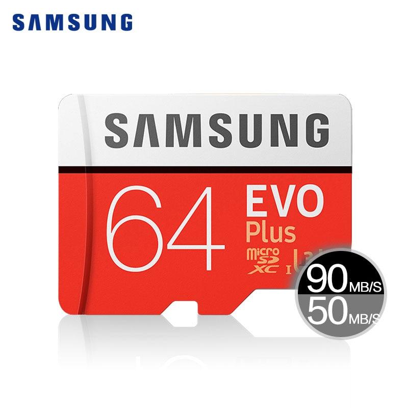 Samsung tarjeta Micro SD 128 GB 64 GB 32 GB 256G 100 MB/S Class10 U3 SDHC SDXC microSD memoria flash tarjeta TF 16 GB para el teléfono móvil