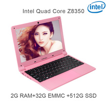 "P5-10 black 2G RAM 32G EMMC 512G Intel Atom Z8350 11.6 Windows10 HDMI WIFI System Laptop bluetooth computer notebook USB3.0"""