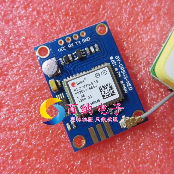GY-GPSV3-NEO GY-GPSV3-NEO-M8N NEO-M8N-0-10 GYGPSV3-M8N ublox NEO-M8N-0-01 NEO-M8N M8N Beidou GPS Module APM MWC Flight Control gy gps6mv1 neo 6m gps module for mwc aeroquad flight control board multicolored
