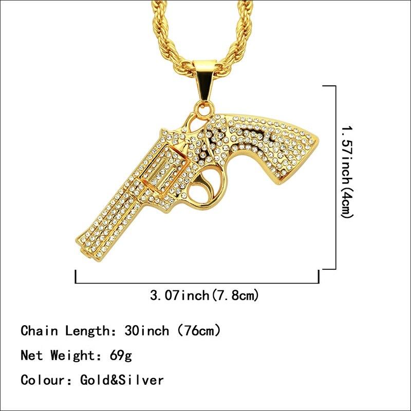 Хип-хоп ювелирные изделия Модные золотые длинные цепочки ожерелья для женщин и мужчин персонализированные буквы Орел молитвенный знак карта кулон ожерелье - Окраска металла: N053-1