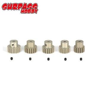 Image 3 - SURPASS HOBBY Juego de engranaje del Motor para coche a control remoto, 5 uds., 32DP, 3.175mm, 12T, 13T, 14T, 15T, 16T, 17T, 18T, 19T, 20T, 1/10