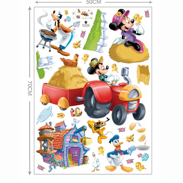 Hot Sale Mickey Mouse Minnie Mouse Happy Children S Room Nursery