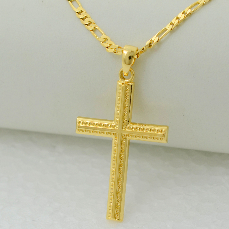 Anniyo women cross gold color charms pendant necklace men fashion anniyo women cross gold color charms pendant necklace men fashion christian jewelry factory wholesale crucifix god in pendant necklaces from jewelry mozeypictures