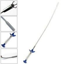 4 pazur 60 cm długi zasięg elastyczne narzędzie do podnoszenia małych elementów sprężynowy uchwyt wąski zakręt krzywa Grabber do podnoszenia nakrętki i śruby