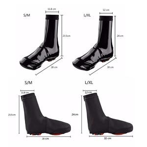 Image 5 - ROCKBRO bisiklet ayakkabı kapağı Copriscarpe Ciclismo su geçirmez termal MTB yol bisiklet spor ayakkabı kapağı galoş sıcak bot kılıfı