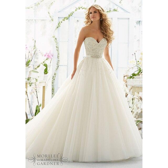 2016 princess wedding dresses ball gown beaded sequins sweetheart 2016 princess wedding dresses ball gown beaded sequins sweetheart lace bridal gowns with belt vintage backless junglespirit Choice Image