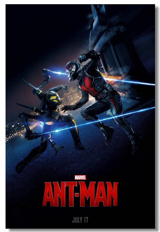 Custom Canvas Wall Decor Marvel Ant Man Poster Paul Rudd ...
