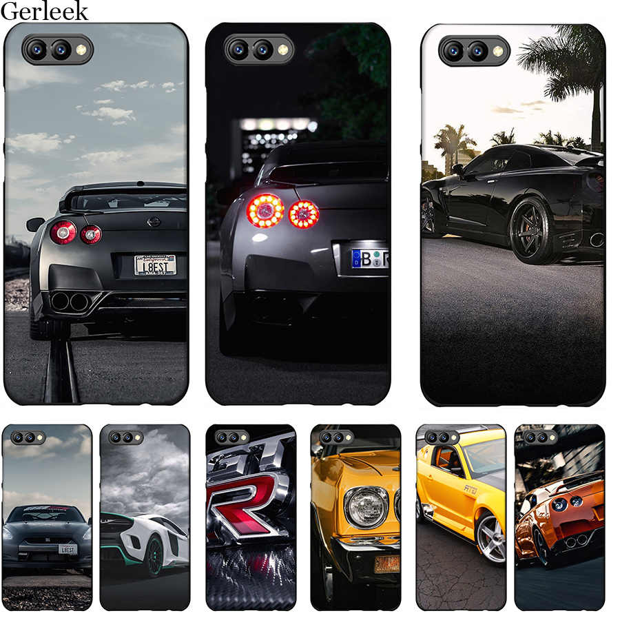 Desxz Tpu Cell Phone Case GTR CAR For Huawei Honor 6A 7X 7A 7C 8 8X 8C 9 Note 10 P30 Lite Pro Cover Shell