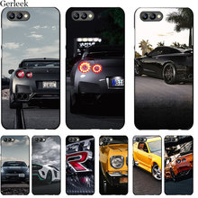 Desxz Tpu Cell Phone Case GTR CAR For Huawei Honor 6A 7X 7A 7C 8 8X 8C 9 Note 10 P30 Lite Pro Cover Shell(China)