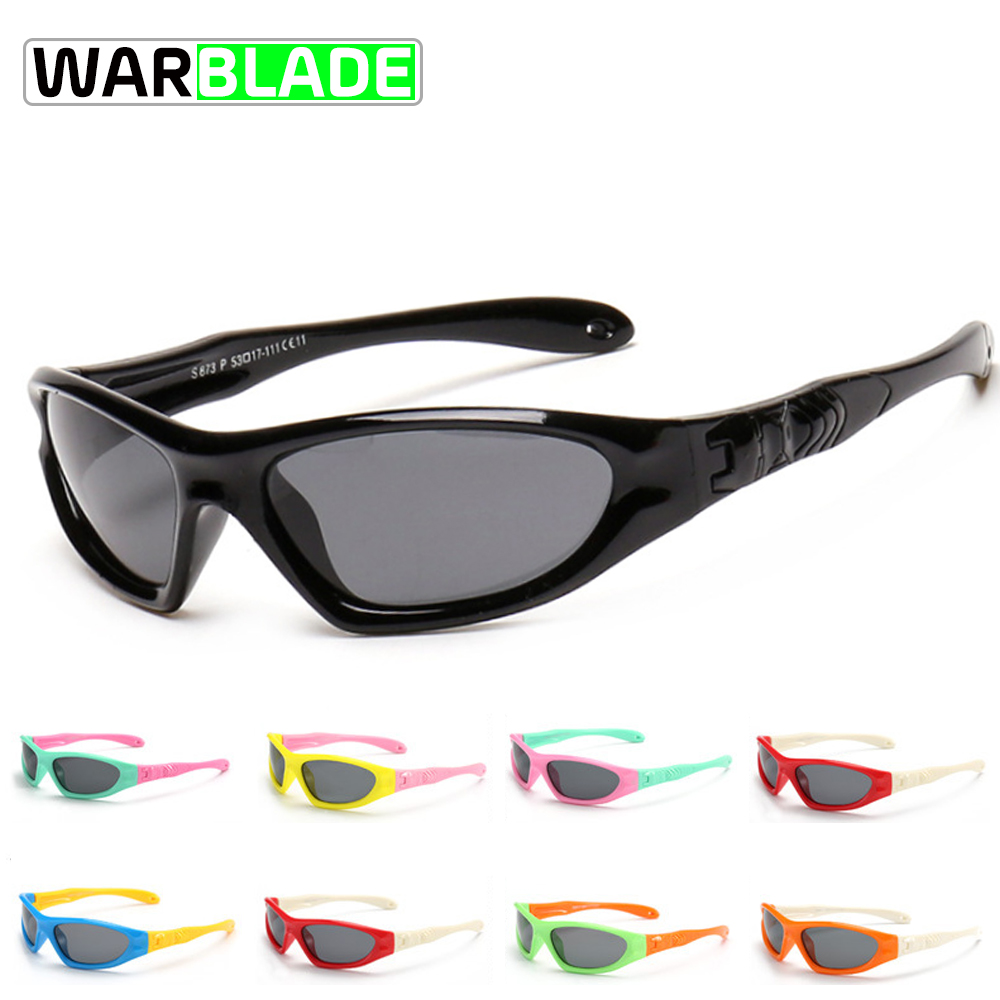 97d00d4c197 WarBLade Kids Baby Safety Polarized Cycling glasses TAC Child Sun Glasses  Girl Boys Outdoor Goggles Polaroid