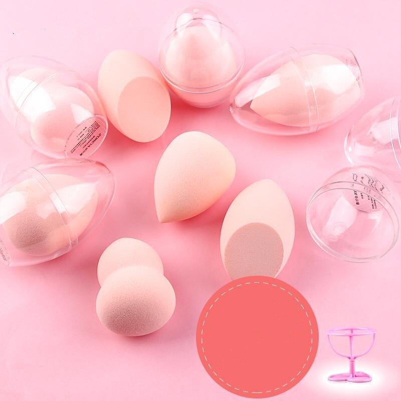 Makeup Sponge Puff Egg Microfiber Face Sponge Face Foundation Concealer Cosmetic Powder Sponge