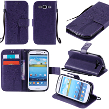 Flip Case For Samsung galaxy S3 SIII S III Neo i9300i / Duos Phone leather Cover 3 GT I9308 I 9300 I9305 Cases