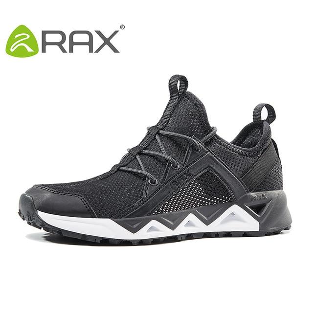 Rax 2018 Men Outdoor Sneakers Breathable Hiking Shoes Big Size Men Women Outdoor Hiking Sandals Men Trekking Trail Water Sandals