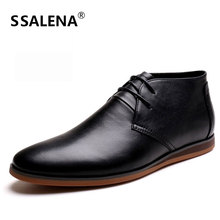 Men oxfords spring summer black split leather shoes casual breathable men oxford shoes big size 37 44 #C002