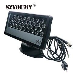 SZYOUMY LED RGB DMX schijnwerper ip65 reflektor lamp 36 W aluminium Schijnwerpers Gebouw lamp led Outdoor LED verlichting Muur wassen