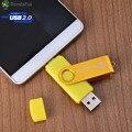 Rondaful Phone OTG USB Pen Drive Cell Phone Mobile Phone USB Flash Drive Pendrive 4GB/8GB/16/32/64GB USB Flash External Storage