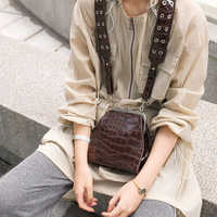 Vintage Crocodile modèle Messenger femmes de luxe Alligator épaule bandoulière sacs Designer Croc Pu cuir femmes rabat sacs Chic