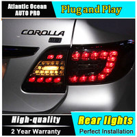 Car Styling LED Tail Lamp For Toyota Corolla Taillights 2011 2013 Rear Light DRL Turn Signal
