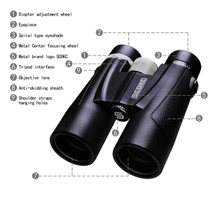 Image 2 - Scokc binóculos 10x42 8x42, militar, hd, de alta potência, para caça profissional, para áreas externas