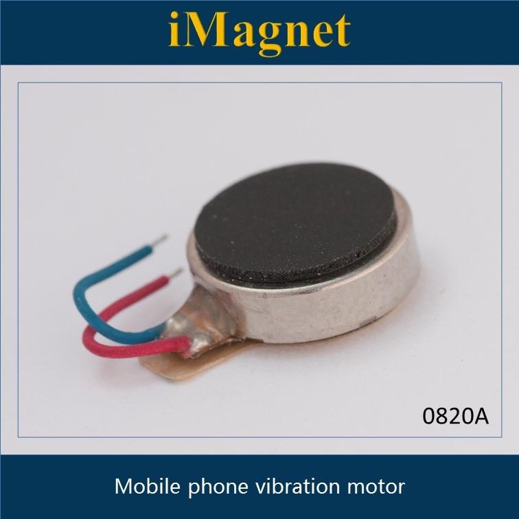 0820A 5 pcs/lot Moteur à Vibration bouton plat-type Moteur 8*2 MM pour téléphone portable tablette appareils Vibration MotorsCoin Moteur