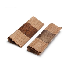 Natural Bamboo Tea Mats High Quality Hand Made Placemats Modern Kitchen Accessories Vintage Ceremony