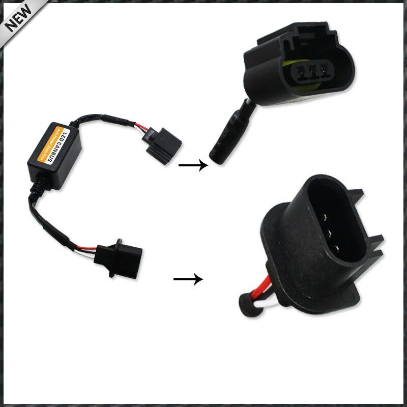 H13 9008 Auto LED Scheinwerfer Decoder Canbus Canceller Anti Flicker Widerstand