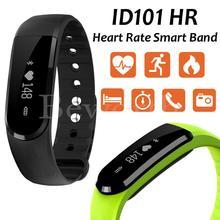 Умный Браслет ID101 сердечного ритма Мониторы Bluetooth SmartWatch Фитнес трекер для женщин против ID107 cicret Спорт SmartBand Ми