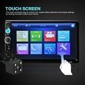 7010B 7 Дюймов 2 ДИН Сенсорный Экран HD Автомобильный Радиоприемник MP5 Игрок Поддержка TF/FM/USB/AUX/Bluetooth Видео Аудио Плеер + Вид Сзади камера