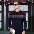 Hot Sale 2017 New Fashion Winter Pullover Sweater Men O-Neck Knitted Sweater Trend High-quality Mens Sweaters And Pullovers