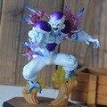 Hot Toys 12 cm Dragon Ball Z Juegos Gratis Figuritas de Anime Freezer Super Saiyan Goku Figuras de Acción Coleccionables Brinquedos resina
