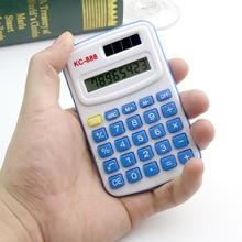 Small pocket 8 bit multi function mini solar font b calculator b font