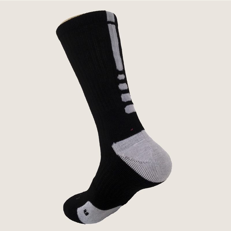 Новые Элитные Носки мужские длинные носки мужские утолщенные Носки мужские носки Meias Masculinas - Цвет: Black And White