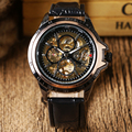 Hot Fashion Men Wrist Watch Mechanical Male Mens Hollow Watches Hour relogio masculino W185401