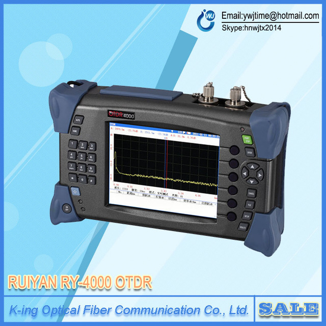 RUIYAN 4000 OTDR Center wavelength 1310nm/1550nm Динамический Диапазон 32 дб диапазон Тест (одномодовый) 100-110 КМ