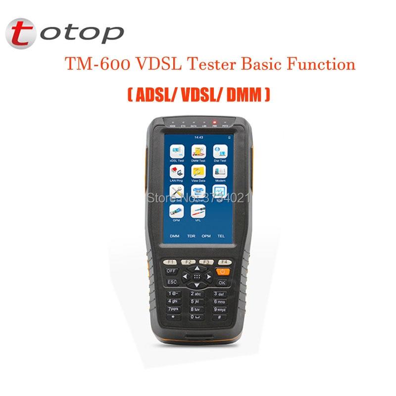TM-600 VDSL2 Tester Basic Version (ADSL/VDSL/DMM),TM-600 VDSL Tester With Basic FunctionTM-600 VDSL2 Tester Basic Version (ADSL/VDSL/DMM),TM-600 VDSL Tester With Basic Function