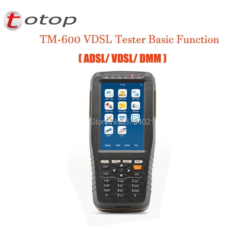 TM-600 VDSL2 Testeur De Base Version (ADSL/VDSL/DMM), TM-600 VDSL Testeur Avec Fonction De Base