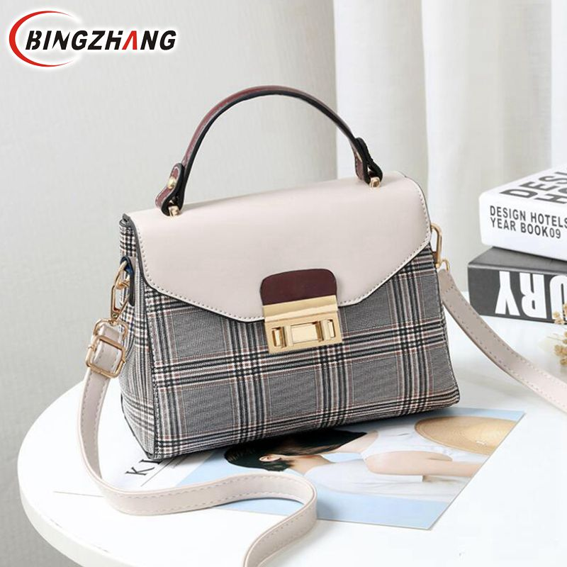 c8a960421247 Buy plaid purse and get free shipping on AliExpress.com