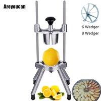 Areyoucan Lemon Orange Apple Kitchen Easy Fruit Divider Wedger Cut Slicer Cutter Kitchen Tool Creative Orange Easy Corer