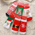 Mother's Choice 100% cotton Christmas  Baby Socks Girls and Boys Short Socks winter Style Free shipping