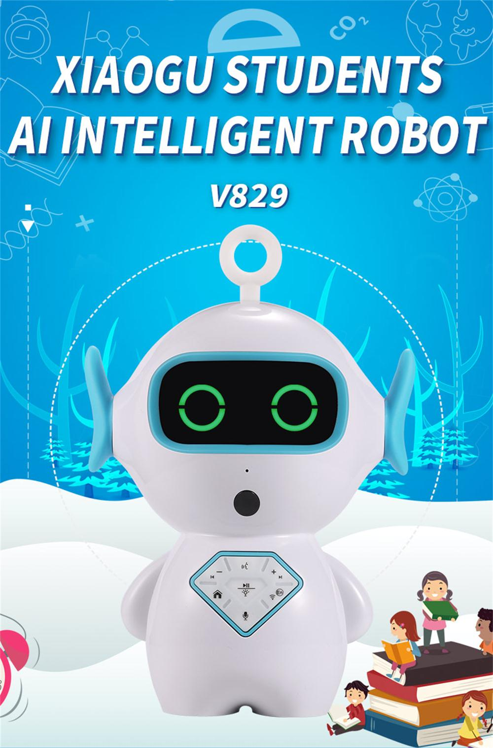 Official Website Timethinker Kids Smart Ai Robot Early Education Wifi Control Tf Companion Learning Robot Voice Recognize Imitation Story Teller Home Automation Modules